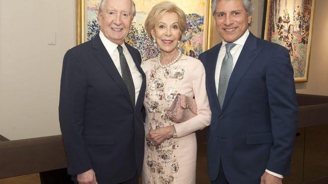 James Borynack, Anka Palitz and Adolfo Zaralegui