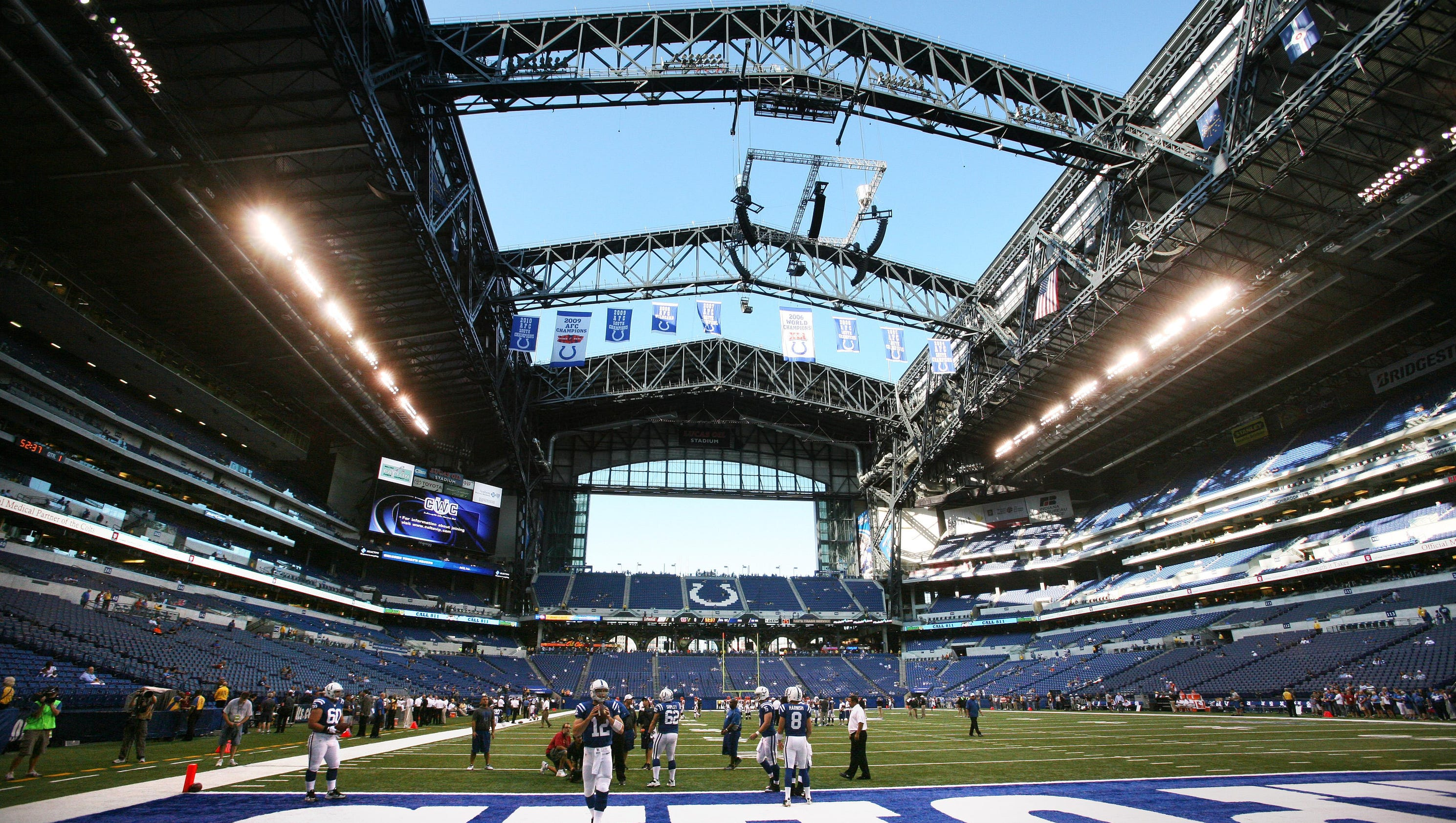Questions Linger About Lucas Oil Stadium Roof