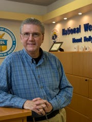 Gary Szatkowski, the former National Weather Service chief meteorologist in New Jersey the Mount Holly office in 2016.