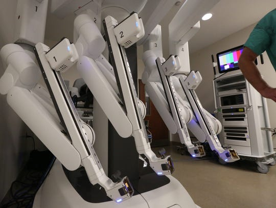 The da Vinci Surgical System? for robotic assisted