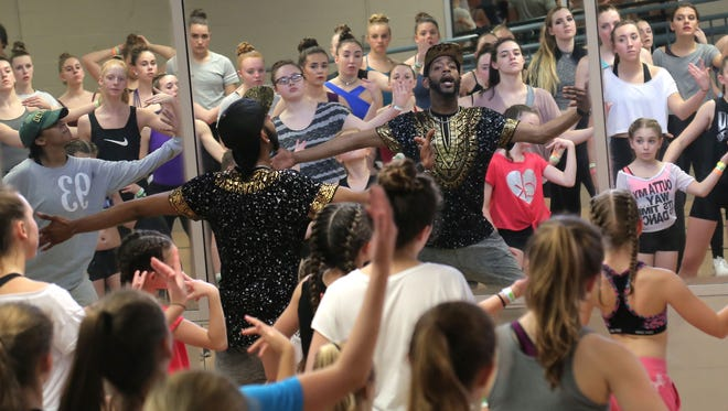 Dancers filled the studios of the Richland Academy of the Arts on Saturday for the seventh annual All-Ohio Dance Festival.