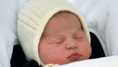 The new royal baby, born May 2, has been named Charlotte