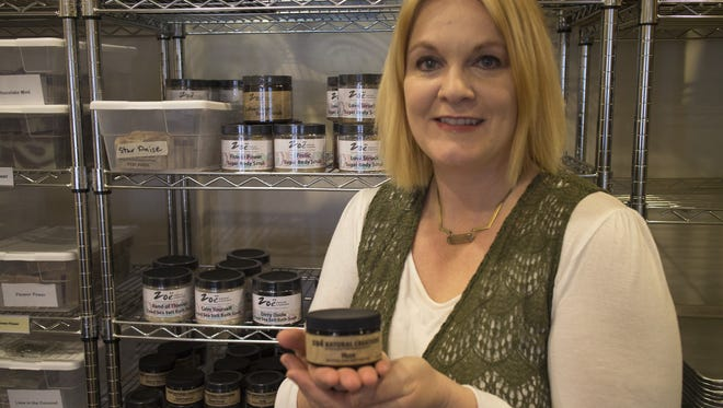 Shawna Wilkinson, a Simpsonville resident, is founder of Zoe Natural Creations, a handcrafted skincare product line tapped to be featured in the GBK Celebrity Gift Lounge this weekend.