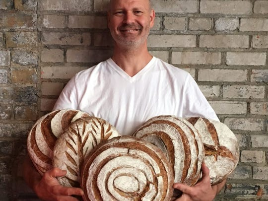 Bread baked with Minneapolis-milled heritage flour from Jonathan Kaye of Heritage Breads is available at the Mill City Farmers Market held Saturdays at the Mill City Museum.