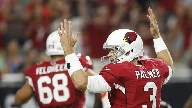 Cardinals fans are grateful for Carson Palmer and Jared Veldheer.