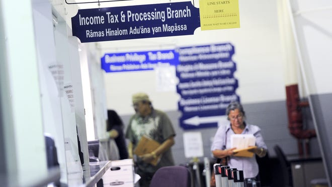 The Income Tax and Processing Brach at the Department of Revenue and Taxation.