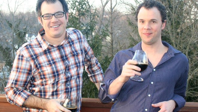 Brothers-in-law Mike Albarellaand Brandon Hughes (right) are opening Nine Giant Brewing in Pleasant Ridge.