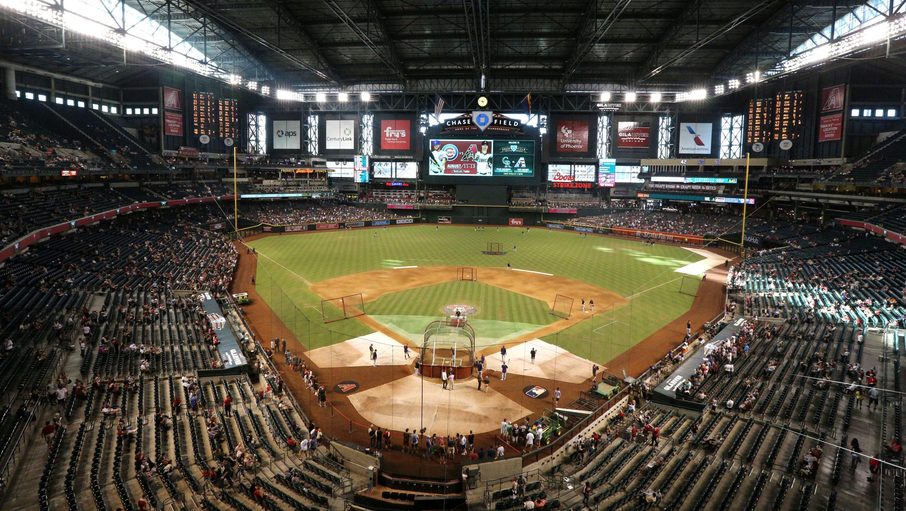 Your take: Should MLB move Diamondbacks due to Chase Field ...
