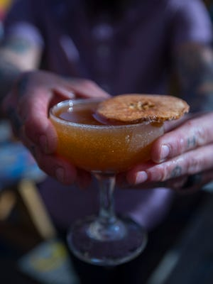 "The ""I Can't Even"" apple and pumpkin spiced martini is one of several unique offerings available at Nice Guys Pizza and Beer."