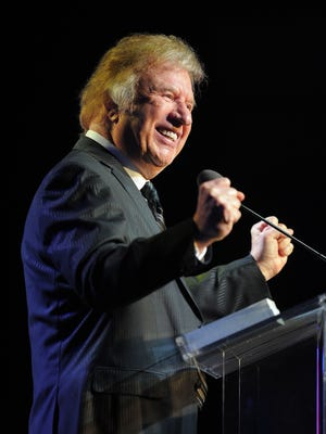 Bill Gaither has a sold out show in Montgomery on Friday at Frazer Memorial United Methodist Church.