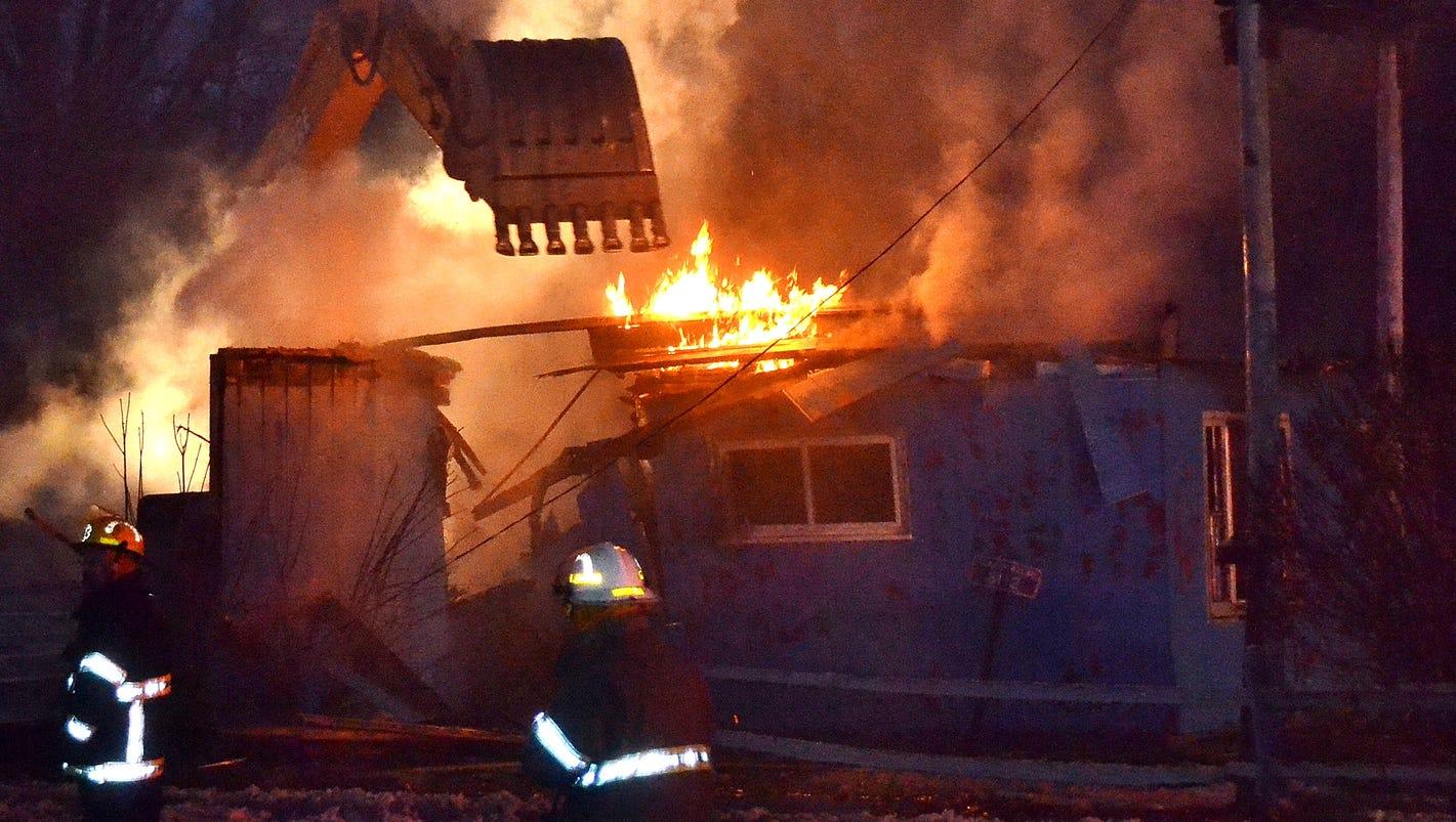 Blaze Destroys Former Tavern In Klondike