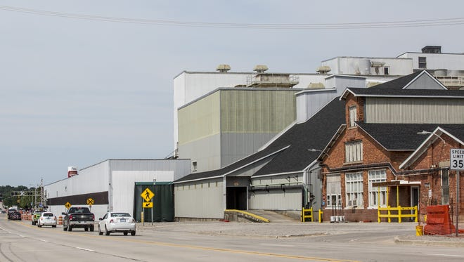 Cargill Salt is at 916 S. Riverside Ave. in St. Clair.
