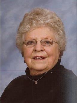 Elaine Margaret Peterson, 87