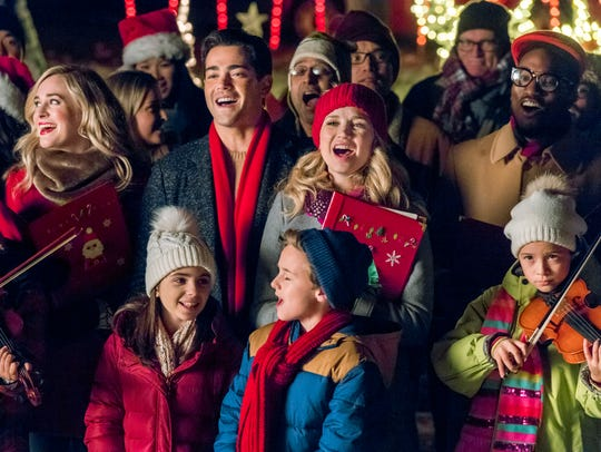 "Jesse Metcalfe and Fiona Gubelmann star in ""Christmas"