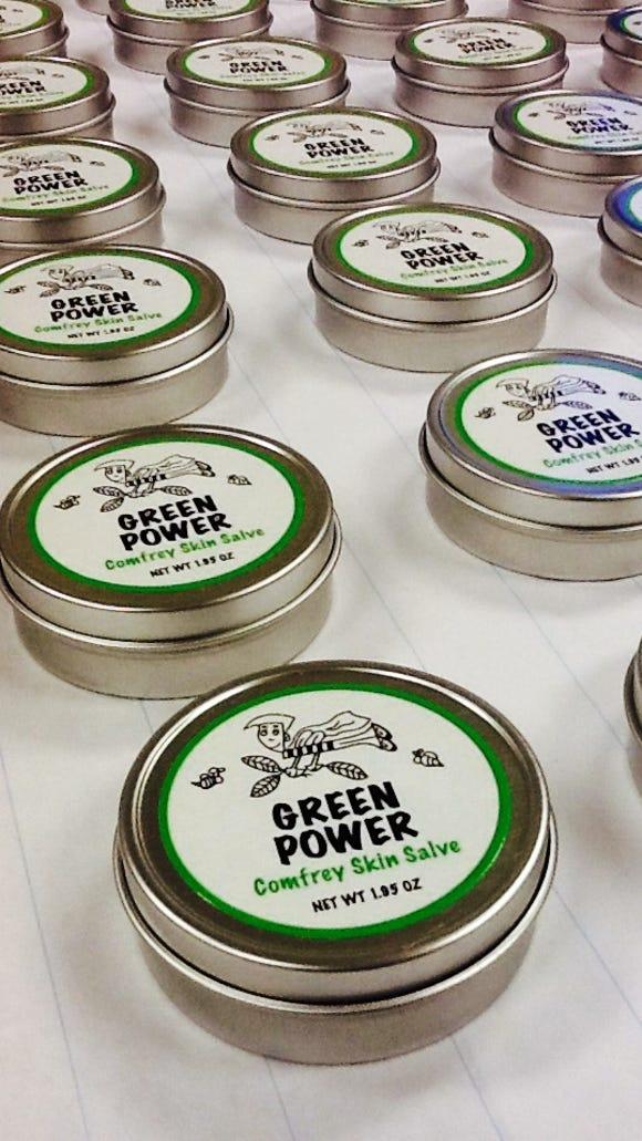 Green Power Skin Salve