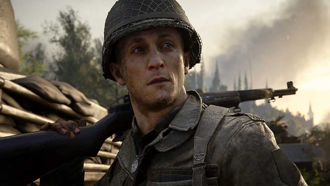 Call of Duty WWII for PC, PS4 and Xbox One.
