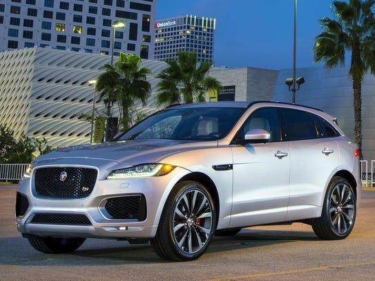 In third place: 2017 Jaguar F-Pace