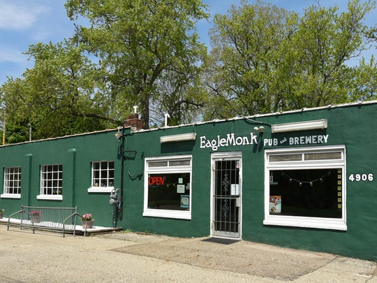 EagleMonk Pub & Brewery in Delta Township opened in 2012. The 2,500-square-foot building was built in the 1930s and has been home to several different businesses, including a butcher shop, gas station and a party store, over the years.