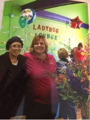 The late Linda Fulmer, a retired Ontario schools teacher, at left, and Donna Farland-Smith, who teaches at The Ohio State University at Mansfield, penned a book on how they started the Little Buckeye Children's Museum on West Fourth Street. A book launch will be held at 6 p.m. on March 31 at Main Street Books, 104 N. Main St.