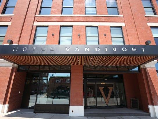 Hotel Vandivort opened in July 2015 in downtown Springfield.