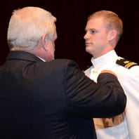 'Small town' boy from Jay-Milton area becomes naval aviator, heading to Japan