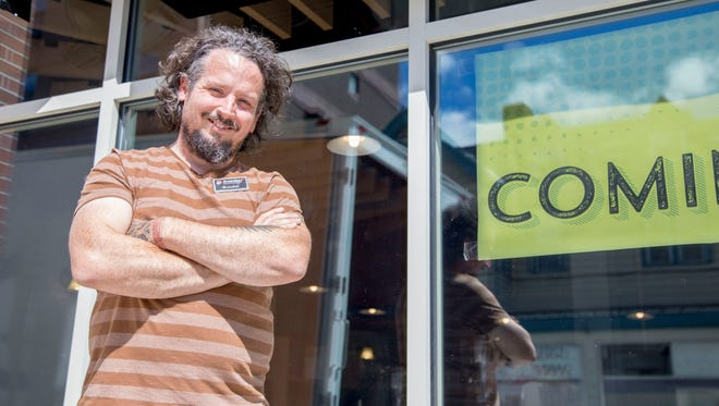 Brandon Kane is the general manager of Greenstar Cooperative, which has a new location at 307 College Ave.