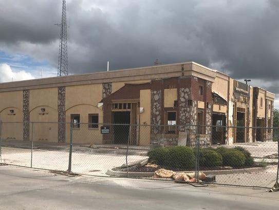 The old Johnny Carino's Restaurant on Buffalo Gap Road