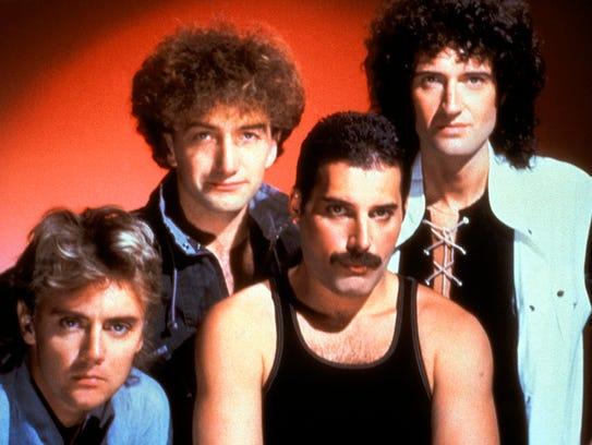 The original members of Queen