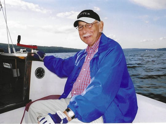 Carl Levine, 86, spent his summers sailing in Ithaca.