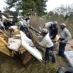 JPS begins clearing deris from unused land