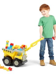 Tonka Mighty Builders Tow 'N Go Tuff Truck Ages 1 and