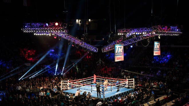 The boxing spotlight shined on Corpus Christi on Saturday at the Top Rank boxing card at the American Bank Center on  Feb. 3, 2018.