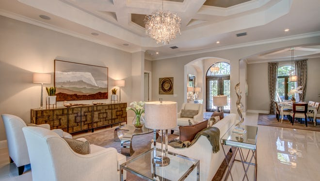 The Ventalo model by Emerald Homes at Quail West is priced at $989,187, without furnishings.