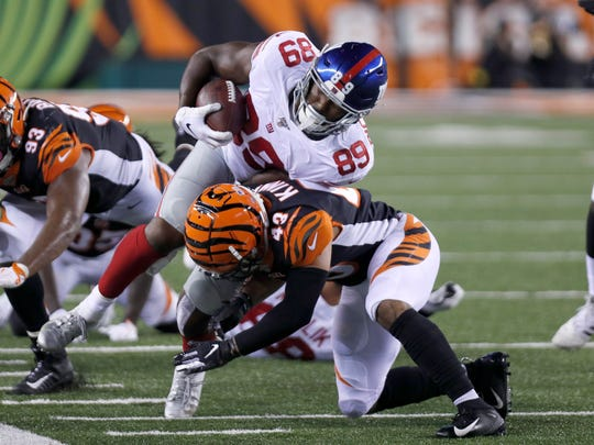 Stock up, down after Giants' 25-23 victory over Bengals