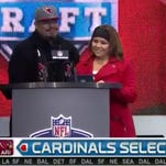 Cardinals fans answer trivia during draft party