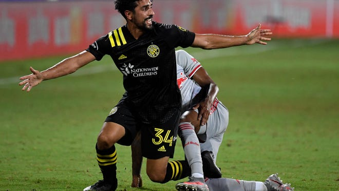 An injury to midfielder Youness Mokhtar has helped in part to defang the potent offense the Crew showed in the MLS is Back Tournament.