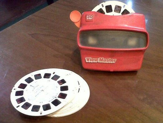 Each Thursday, Your Take asks to see your photos of the tech that you used to use as part of our #tbttech. Here, we found the ultimate glimpse into the past, a View-Master.