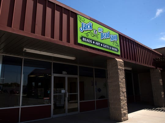 Jack & the Bead Shop at Orchard Plaza in Farmington offers such items as beads,  jewelry tools, stringing material, crystals, incense, oils, sage, tea, journals, Native American arts and crafts, and soy candles.