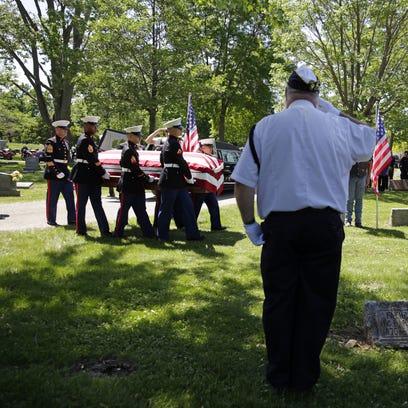 Sgt. Elden W. Grimm, a U.S. Marine from Menasha who