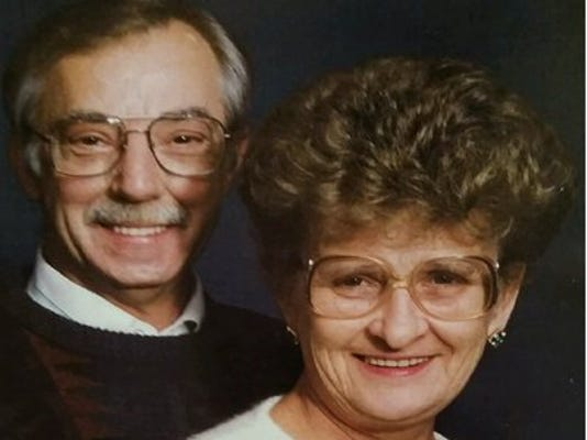 Anniversaries: Kenneth Slinker & Shirley (Collins) Slinker