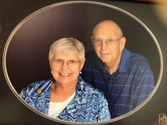 Anniversaries: Glenn Lounsbury & Marge Lounsbury
