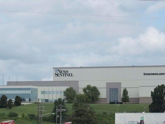 News Sentinel building