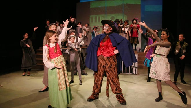 This year, the Young Artisan production at Riverwalk features 29 young people in the cast and six more in the crew.
