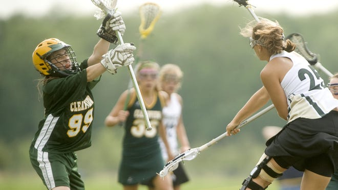 Clearview goalie Rachel Hall plays against Seneca in 2010. Hall was in critical condition after being struck by a hit-and-run driver on Temple University's campus.