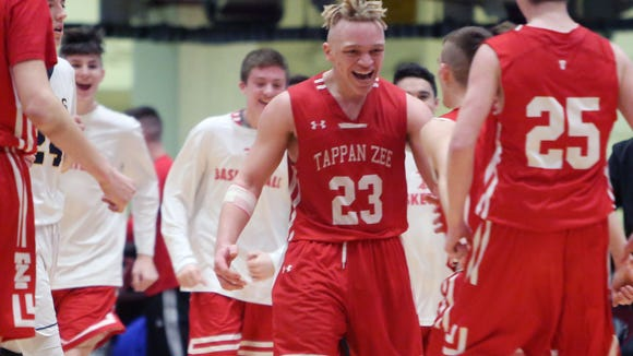 Tappan Zee defeated Walter Panas in the boys Section 1 semifinal game at the Westchester County Center in White Plains Feb. 27, 2018.