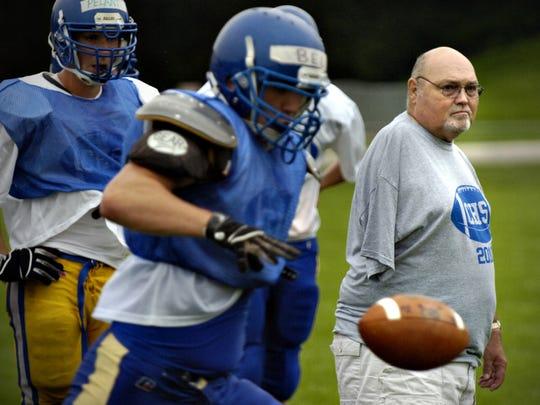 Dean Taylor returned as a high school coach for four seasons.