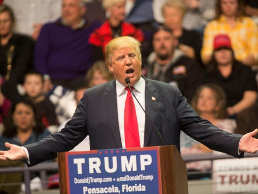blogs ballot presidential races trump begins ends florida rally with fireworks