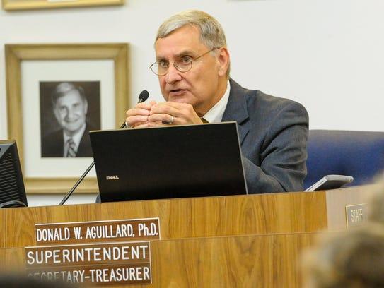 Lafayette Parish Superintendent Donald Aguillard.