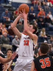Colten Skaggs will be the team's go-to in the paint this season.