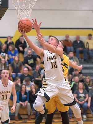 Gavin Feichtner is one of the four sophomores that saw lots of time last year on the court.